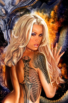 Jenna Jameson's Shadow Hunter #1